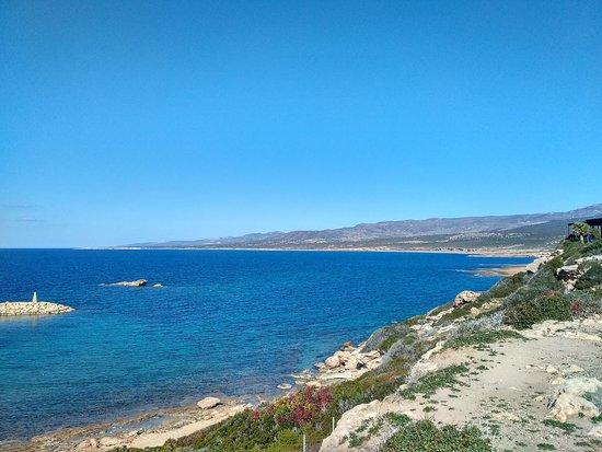 Agios Georgios, Kıbrıs: Вид, берег
