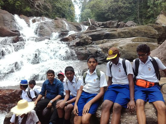 Provincia del sud, Sri Lanka: Nature Exploration and Conservation Society wth Bambalapitiya Hindu College students