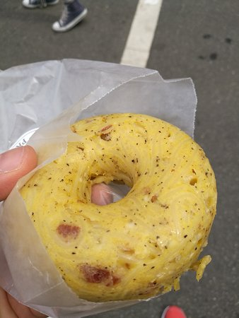 Williamsburg Smorgasburg: Carbonara Donuts