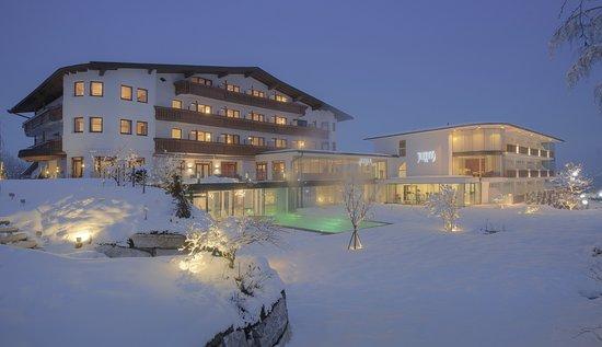Hinterthiersee, Ausztria: Winterzauber