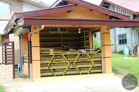 Lipa City, Filipinas: Honey House Honey Bee Farm