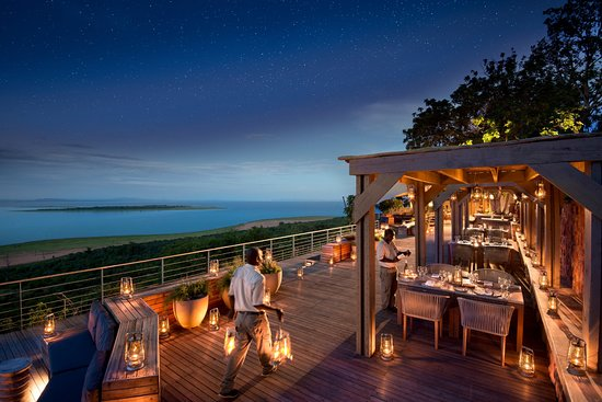 Kariba, Zimbabwe: Dinner under the stars at Bumi Hills