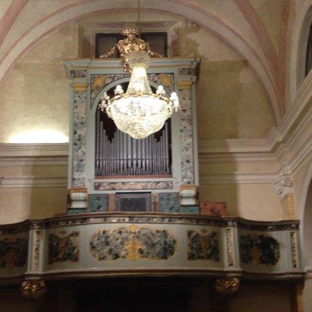 Montecassiano, Italia: Organo della Chiesa di San Marco e Sant'Agostino