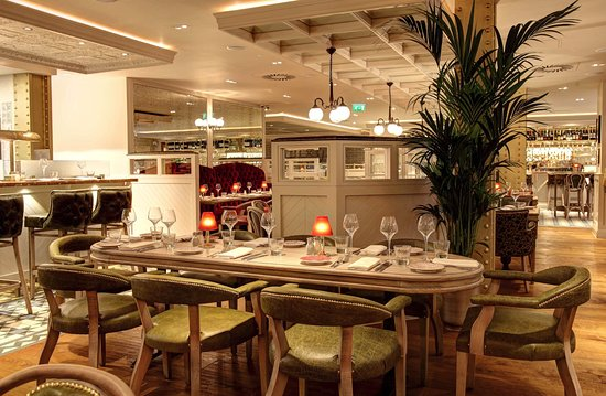 Atlantic Brasserie: Chef's table