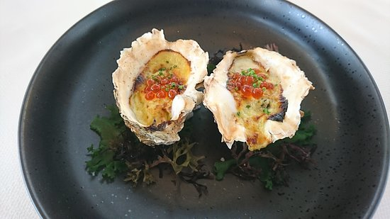 Gratin of Royal Oysters