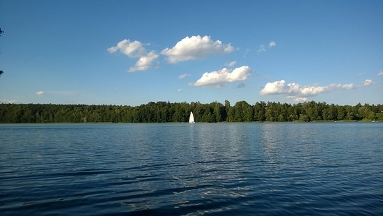 Stare Jablonki, Polonia: lake and perfect view