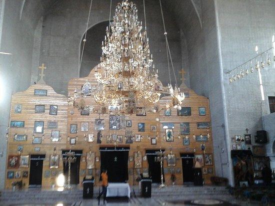 Fagaras, Romania: altarbereich.....