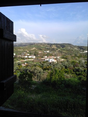 Goudhi, Cyprus: View from the kitchen
