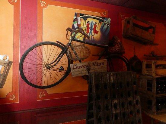 Gye-sur-Seine, ฝรั่งเศส: entrée de la salle de restaurant
