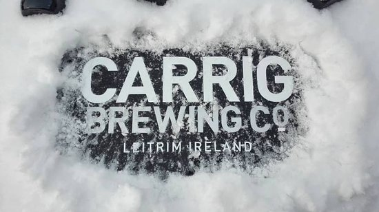 Carrig Brewing Company: Snow logo :-)