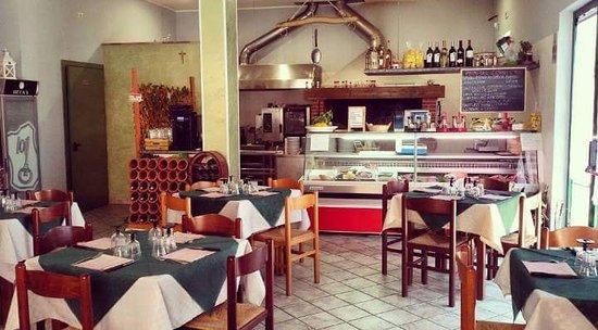 Posta Fibreno, إيطاليا: La Braceria