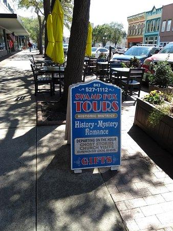 Swamp Fox Tours : Tour Sign (No Tour)