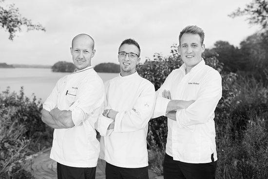 Seehotel Töpferhaus: Chef's Jan Grunzig, Christian Hecker und Julian Richert