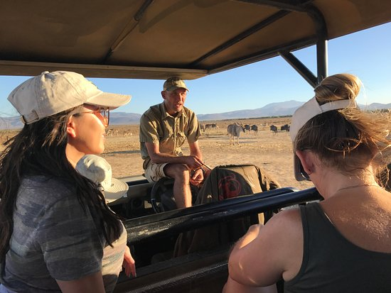 Ceres, South Africa: Safari with Jacques as our Ranger