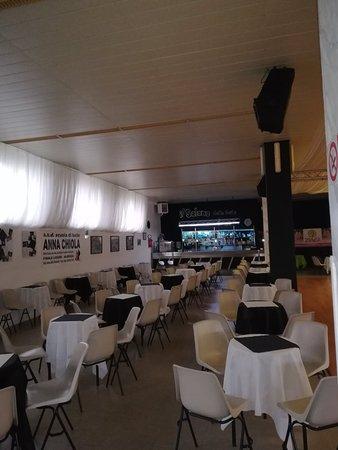 Tovo San Giacomo, İtalya: Il salone delle feste