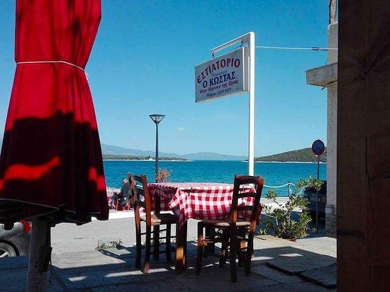 Amaliapoli, Greece: Ψαροταβέρνα Ο Κώστας
