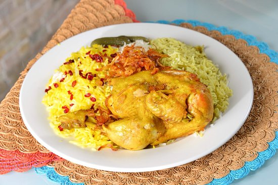 Rice With Chicken Picture Of Yas Palace Iranian And Sea Food