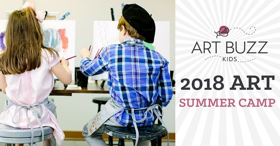 Wine and Design: Art Buzz Kids Summer Camps!