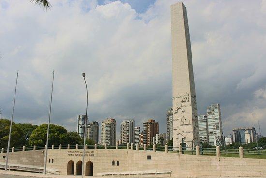 Obelisco do Ibirapuera: Obelisco