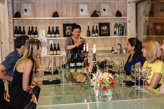 Casablanca, Chile: Wine degustation