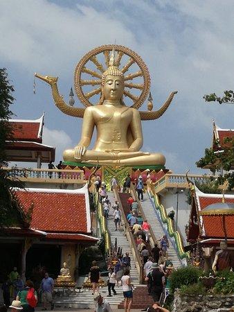 Bophut, Tailandia: Der Goldene Buddah auf Koh Samui