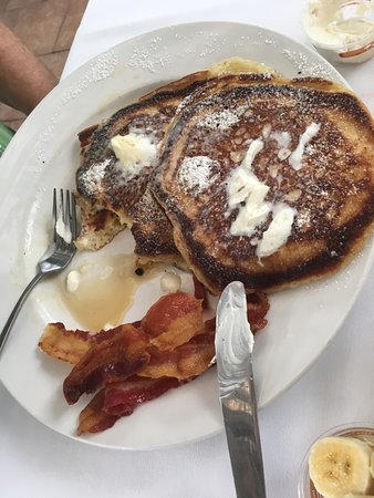 Holualoa, Hawái: Pancakes!