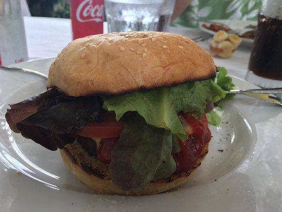 Holualoa, Hawái: Brie Burger