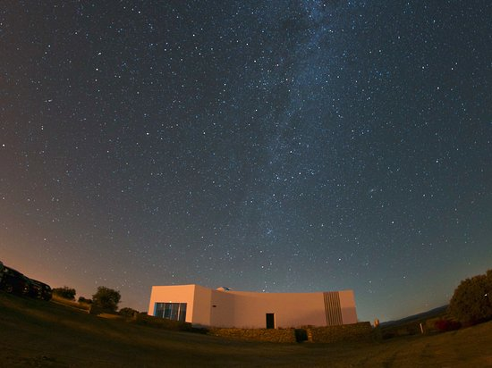 Monsaraz, Portugal: The observatory under the Milky Way