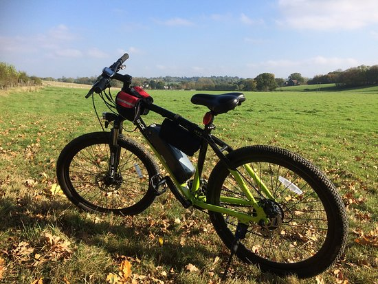 Newenden, UK: Afternoon ride exploring the trails