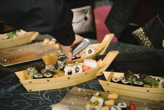 Canals, สเปน: Barcos de sushi