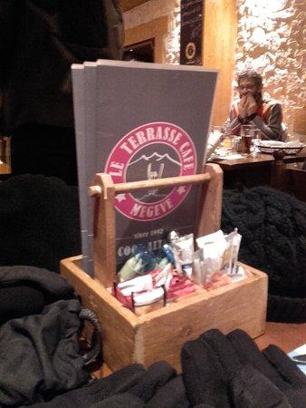 Le Terrasse Café : Carte