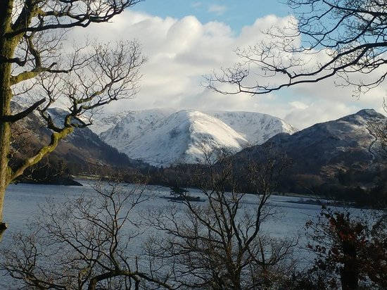 Glenridding, UK: View from hotel bedroom at Inn on the Lake