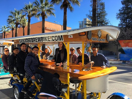 ‪San Jose Brew Bike‬