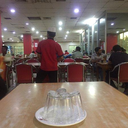 Restaurant with Big seating arrangement