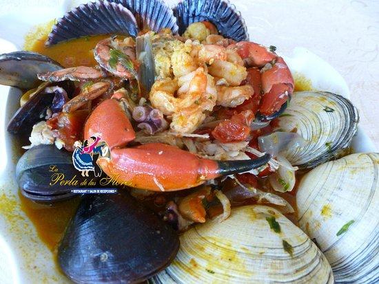 La Perla de las Flores Restaurant: Parihuela