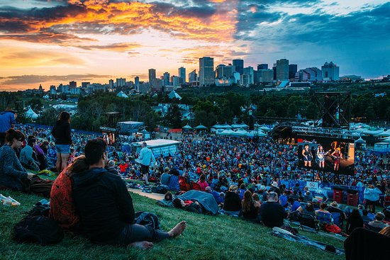 Edmonton International Folk Music Festival in Gallagher Park