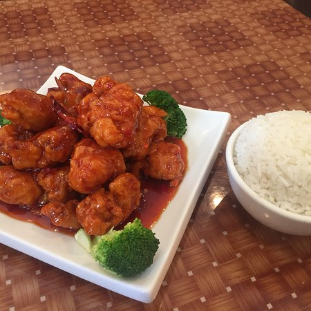 Moon Township, PA: General Tso Chicken (lunch)
