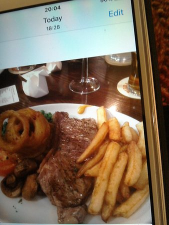 Gargrave, UK: Steak Night