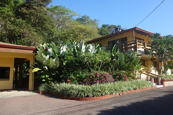Hotel Playa Espadilla: Accueil et premier bloc de chambres