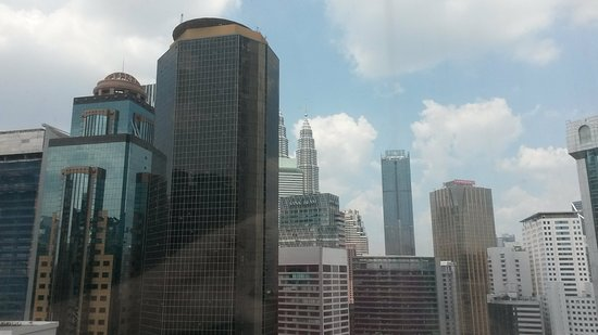 Hotel Istana Kuala Lumpur City Centre: View from Room 2031