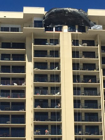 Beware of construction men on your condo balcony without your consent!