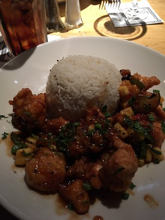 The Cheesecake Factory: Pineapple Chicken & White Rice