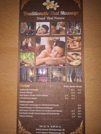 Nunee Thai Massage