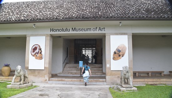 Honolulu Museum of Art : ホノルル美術館のエントランス (+特別展示)