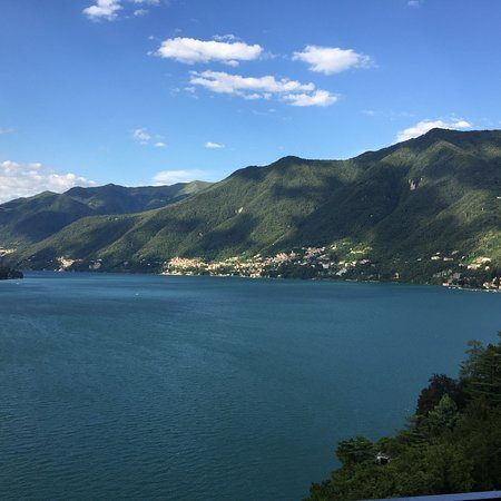 Torno, Italia: View from our balcony