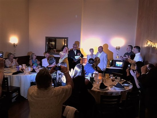 Maggiano S Little Italy 50th Wedding Anniversary Party Held In A Private Room