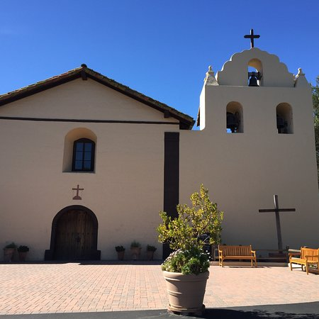 Old Mission Santa Inés in Solvang, CA