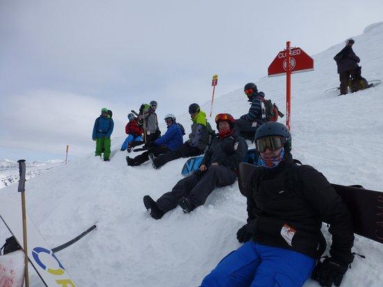 Grand Targhee Ski Resort: The summit.