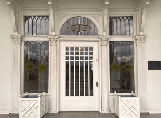 info for 09bd3 0eb21 Front door of mansion - Picture of Whitehaven Welcome Center ...