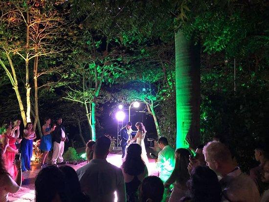 Hotel & Resort Palermo: Dance/DJ area for wedding